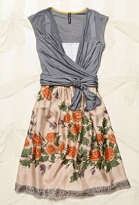 Anthropologie Globemallow Dress