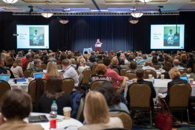Collaboration Across Borders Conference. photo credit: David Hungate for Virginia Tech Carilion