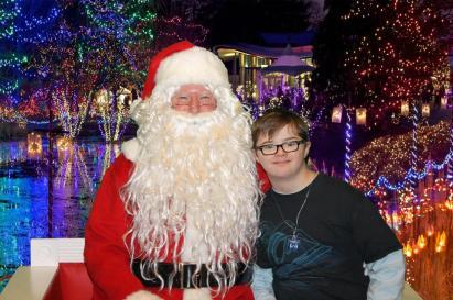 Aaron and Santa '15